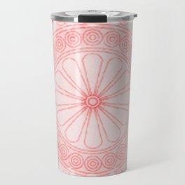Mandala rose Travel Mug