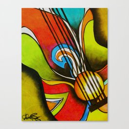 Untitled (Guitar)  Canvas Print