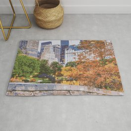 I Recall Central Park in Fall Rug
