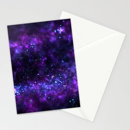 Cosmos - Purple Stationery Cards