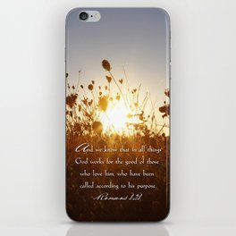 In All Things iPhone Skin
