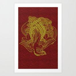 Phoenix Beauty Art Print