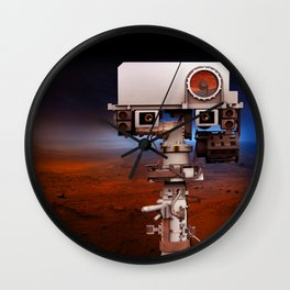 Mars Curiosity NASA Wall Clock