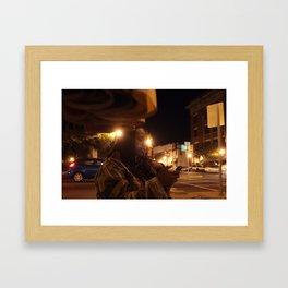 Starry Lights Framed Art Print