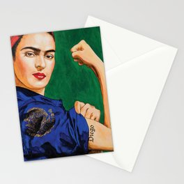 Frida Strong Stationery Cards