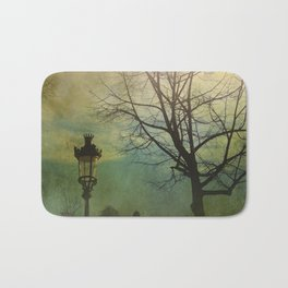Once pon a time a park in Barcelona Bath Mat