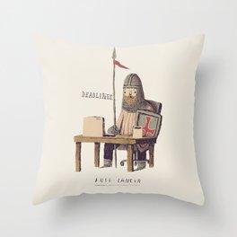 free-lancer Throw Pillow
