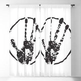 E.T. Hand Print Blackout Curtain