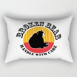 Broken Bear - Handle With Care Rectangular Pillow