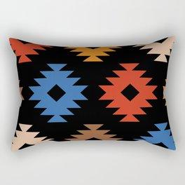Colorful Southwestern Pattern 538 Rectangular Pillow