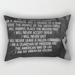 Soldier Oath Rectangular Pillow