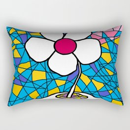 FLOWER FOR YOU    APRIL 4, 2020 Rectangular Pillow
