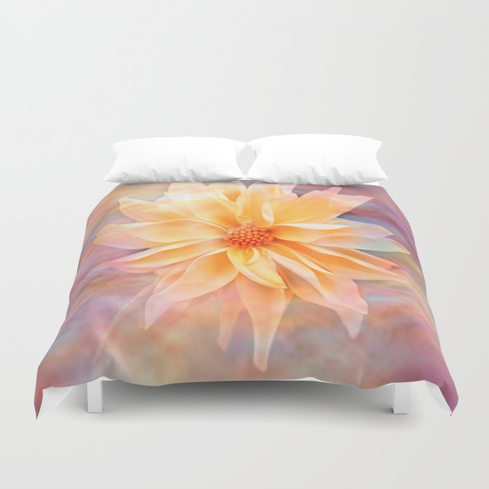 Dahila Delight  Duvet Cover