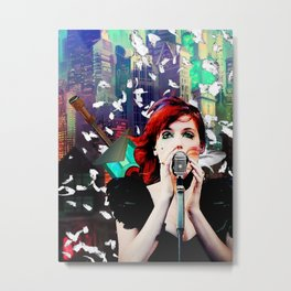 Transistor - Before We All Become One… Metal Print