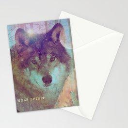 Spirit of the Wolf - Shamanic Power Animal Stationery Cards