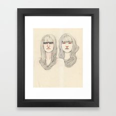 Hair Play 09 Framed Art Print