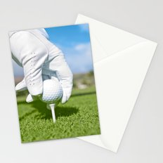 Tee me up Stationery Cards