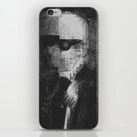 karl lagerfeld iPhone & iPod Skins featuring Karl Lagerfeld Star Futurism Limited by Futurism_