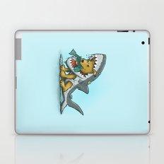 Shark Suit Dog Laptop & iPad Skin