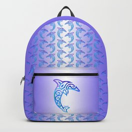 Tribal Dolphin Backpack
