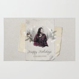 OUAT HAPPY HOLIDAYS // The Queen 2 Rug