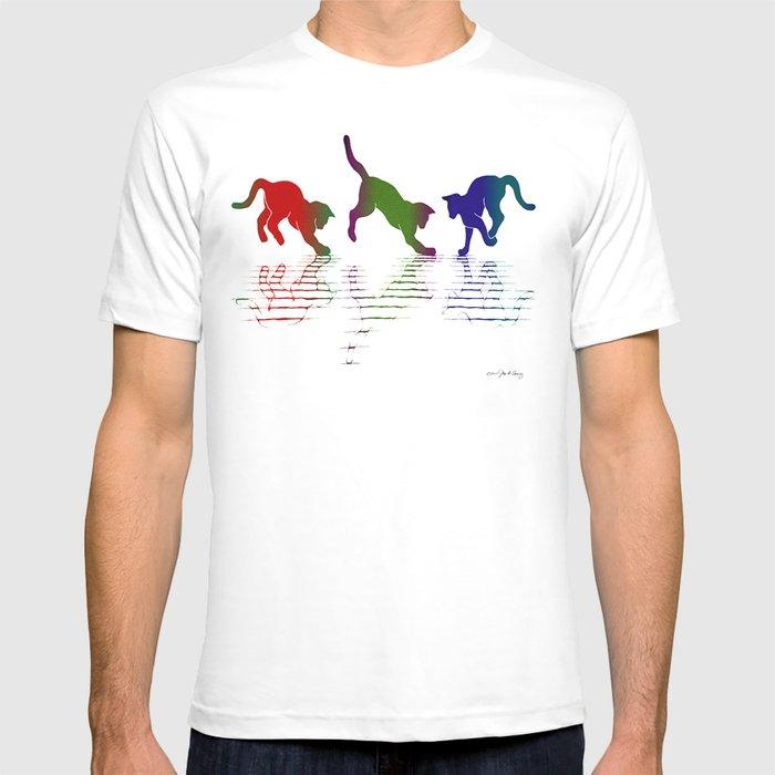 CATS RAINBOW II T-shirt