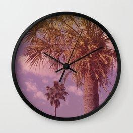 Palm Neighbors Wall Clock