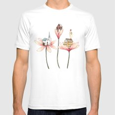 Pretty Little Things MEDIUM Mens Fitted Tee White