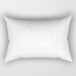 Berger-Picard-tshirt,-just-freaking-love-my-Berger-Picard Rectangular Pillow