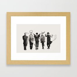shinee [ the deathbringers ] Framed Art Print
