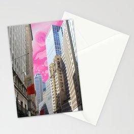 sunshine on wallstreet  Stationery Cards