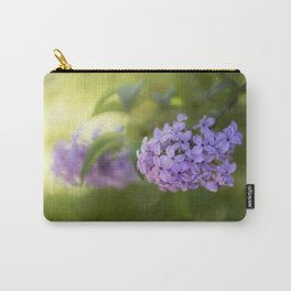 Lilac syringa in LOVE - Spring Tree Flower photography Carry-All Pouch