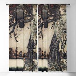 """Talking to the Birds"" by Arthur Rackham Blackout Curtain"