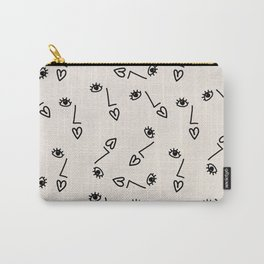 Face on paper Carry-All Pouch