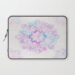 Winter Fiery Mandala Laptop Sleeve