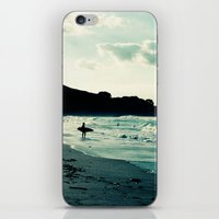 surf iPhone & iPod Skins featuring Surf by Hilary Upton
