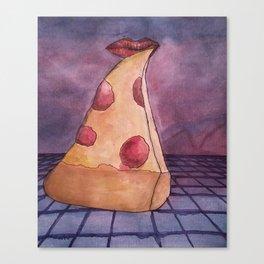 .pizzawave Canvas Print