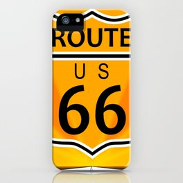 Route Sixty Six iPhone Case