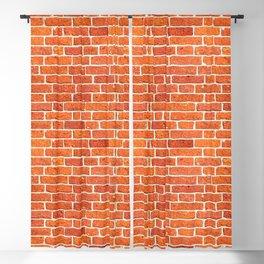 Brick wall patern Blackout Curtain