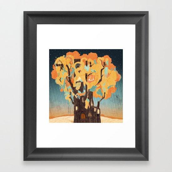 Treehouse Framed Art Print