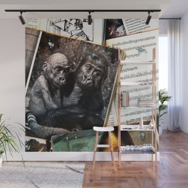 Melody for a Monkey - BERLIN - Germany Wall Mural