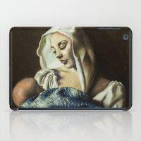 madonna iPad Cases featuring Madonna with children by Giuseppe Vassallo
