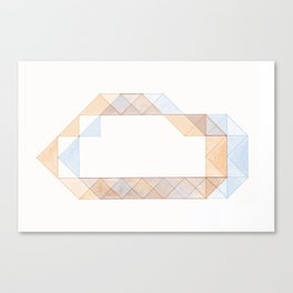 Congruence of Triangles Canvas Print