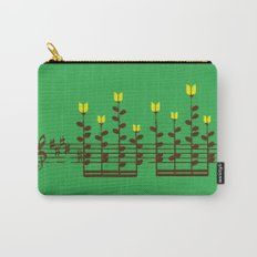 Music notes garden Carry-All Pouch