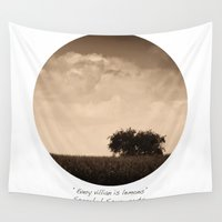 inspirational Wall Tapestries featuring Inspirational by mJdesign