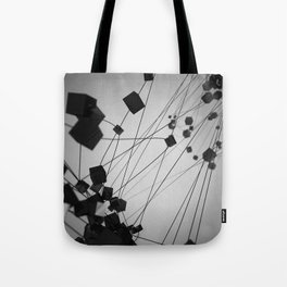 Plato / Hexahedron = Earth Tote Bag