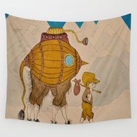 journey Wall Tapestries featuring Journey by Liz Hermanson