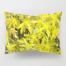 BLOOMING YELLOW SEDUM SPRING FLOWERS GARDEN ART Pillow Sham