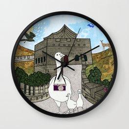 Peking duck (well-known Chinese recipe) Wall Clock