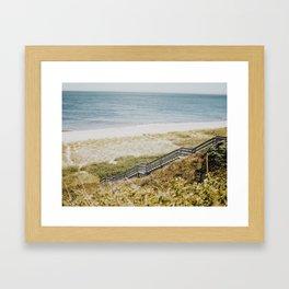 Nantucket Walk  Framed Art Print